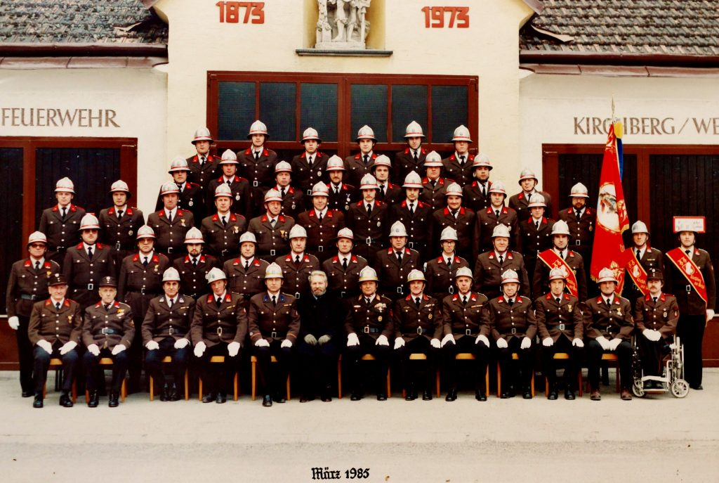 FF Kirchberg am Wechsel 1985