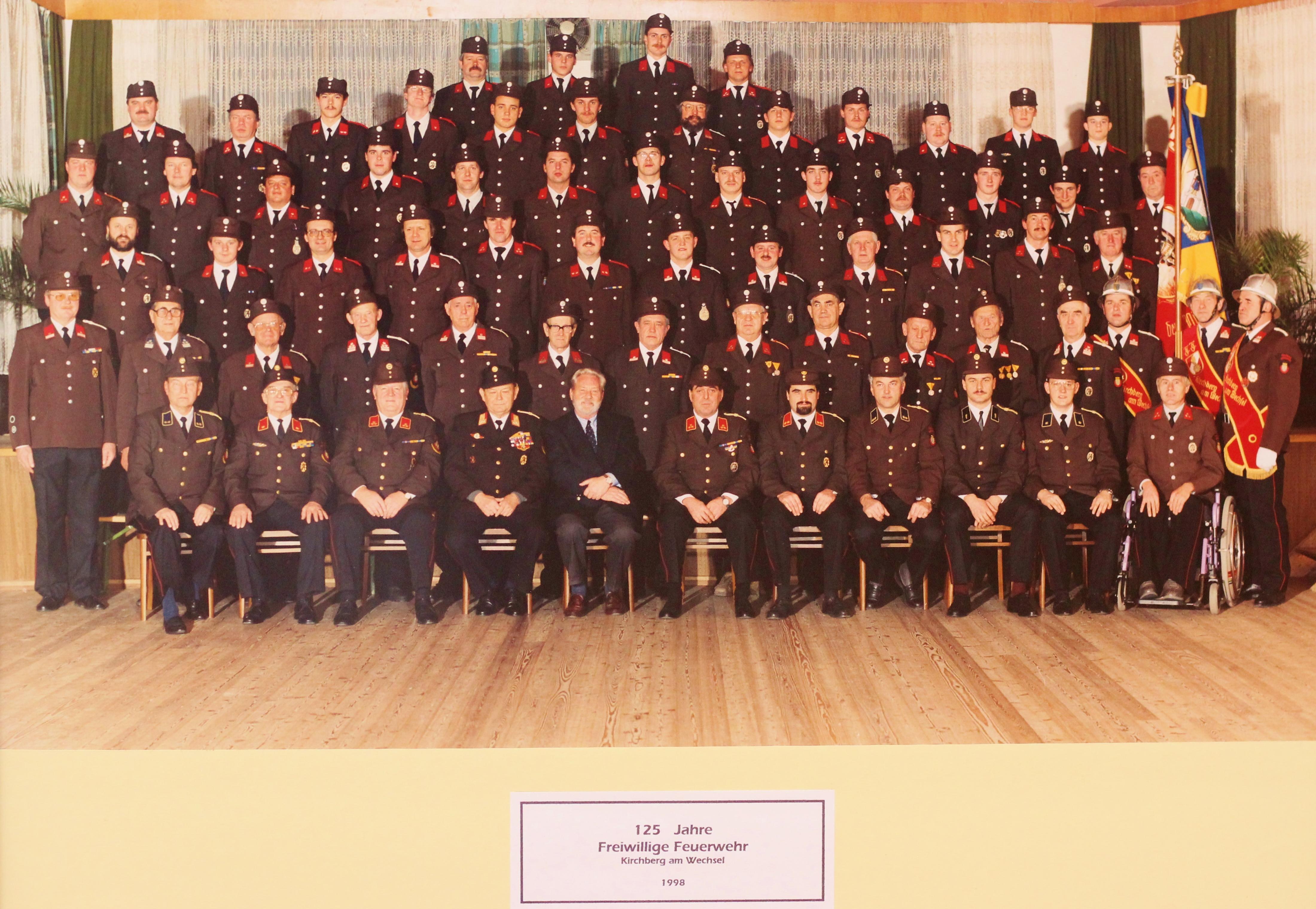 FF Kirchberg am Wechsel 1998