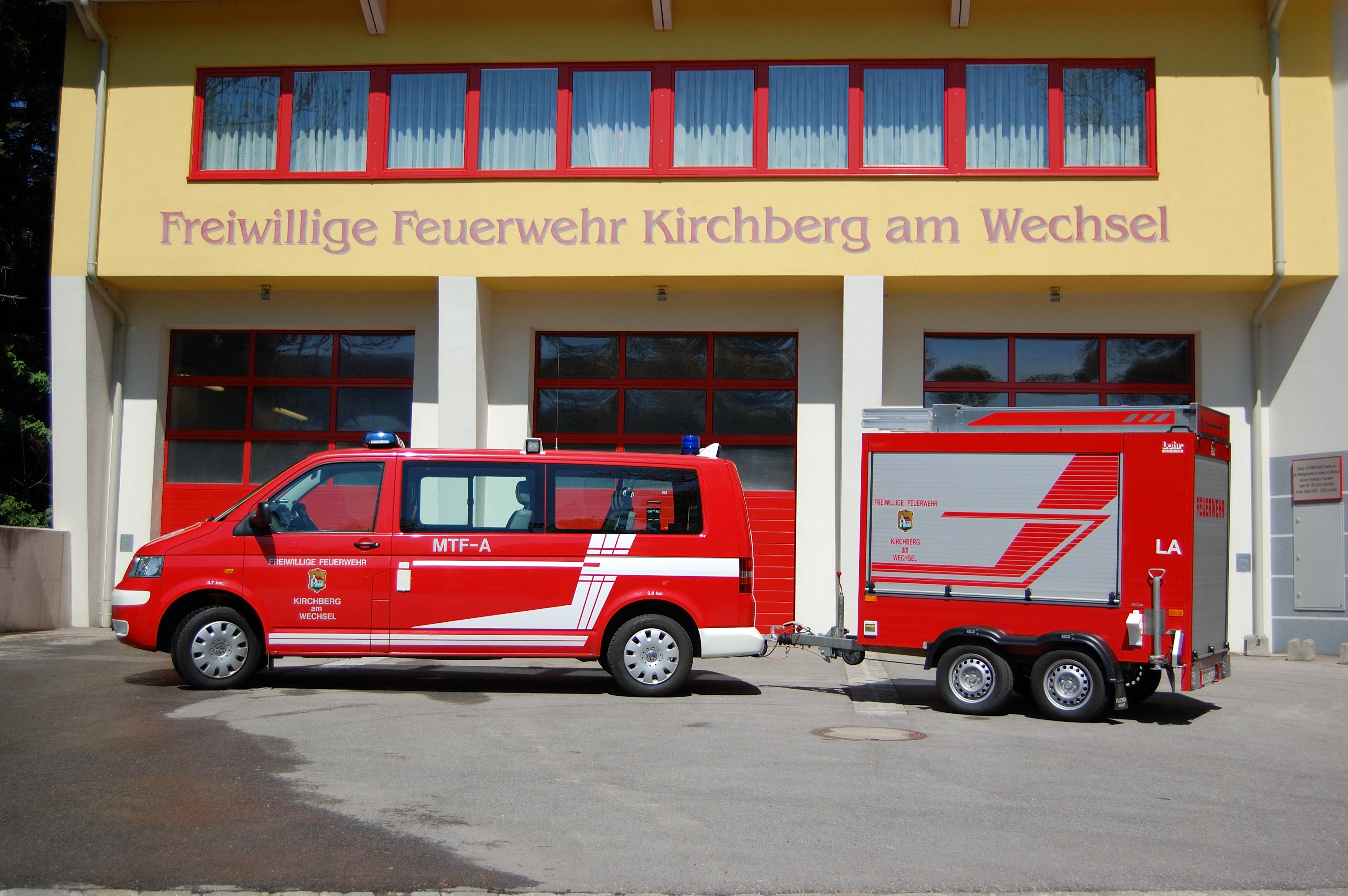 Mannschafts-Transport-Fahrzeug-Allrad (MTF-A) + Löschanhänger (LA)