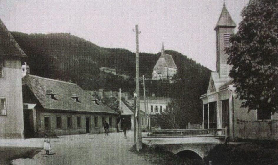 Ansicht des Feuerwehrhauses aus 1905