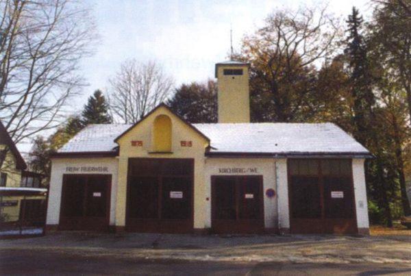 Ansicht des Feuerwehrhauses 1984