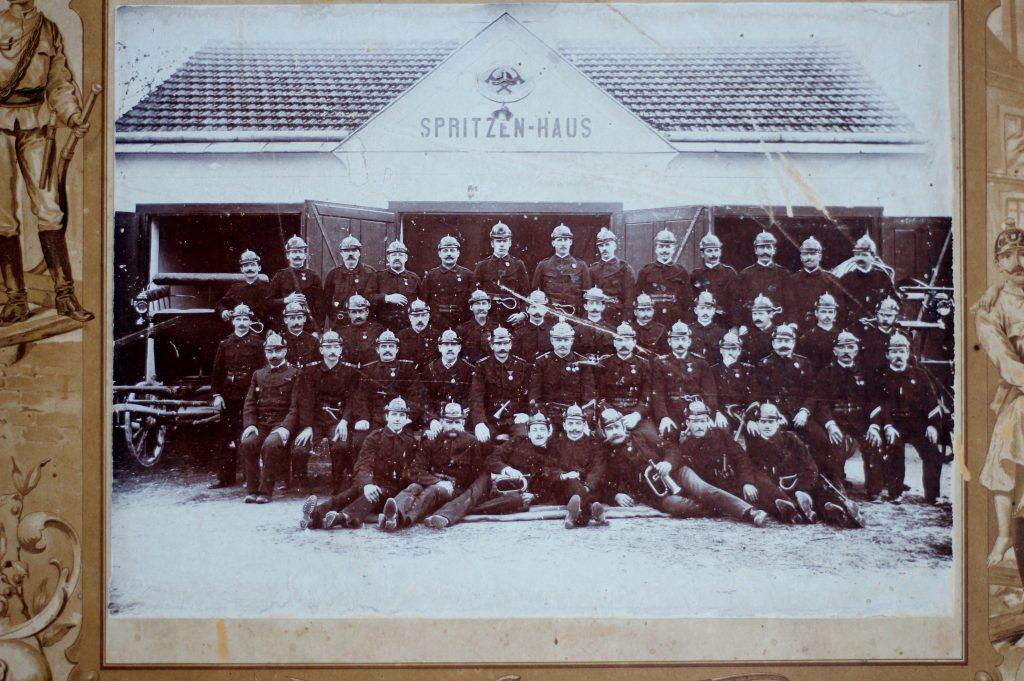FF Kirchberg am Wechsel 1900