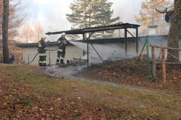 Brandeinsatz Friedersdorf 2019-11-23